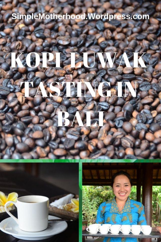Kopi Luwak Tasting in Ubud, Bali Kopi, Ubud, Kopi luwak