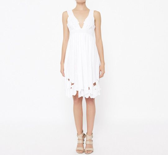 Catherine Malandrino White Costume
