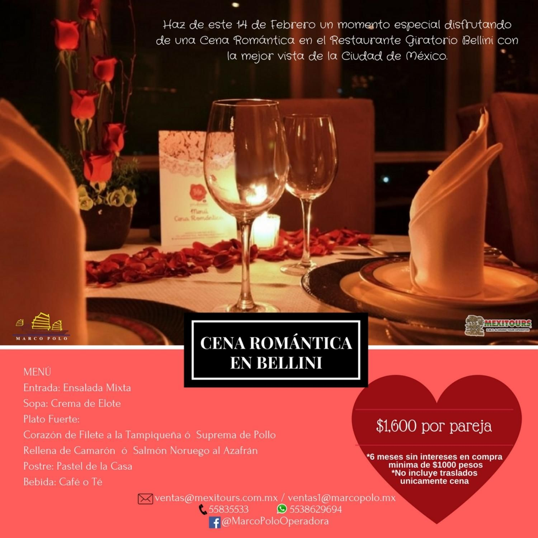 Cena Romantica En Bellini 14 De Febrero Alcoholic Drinks Alcohol Bellini