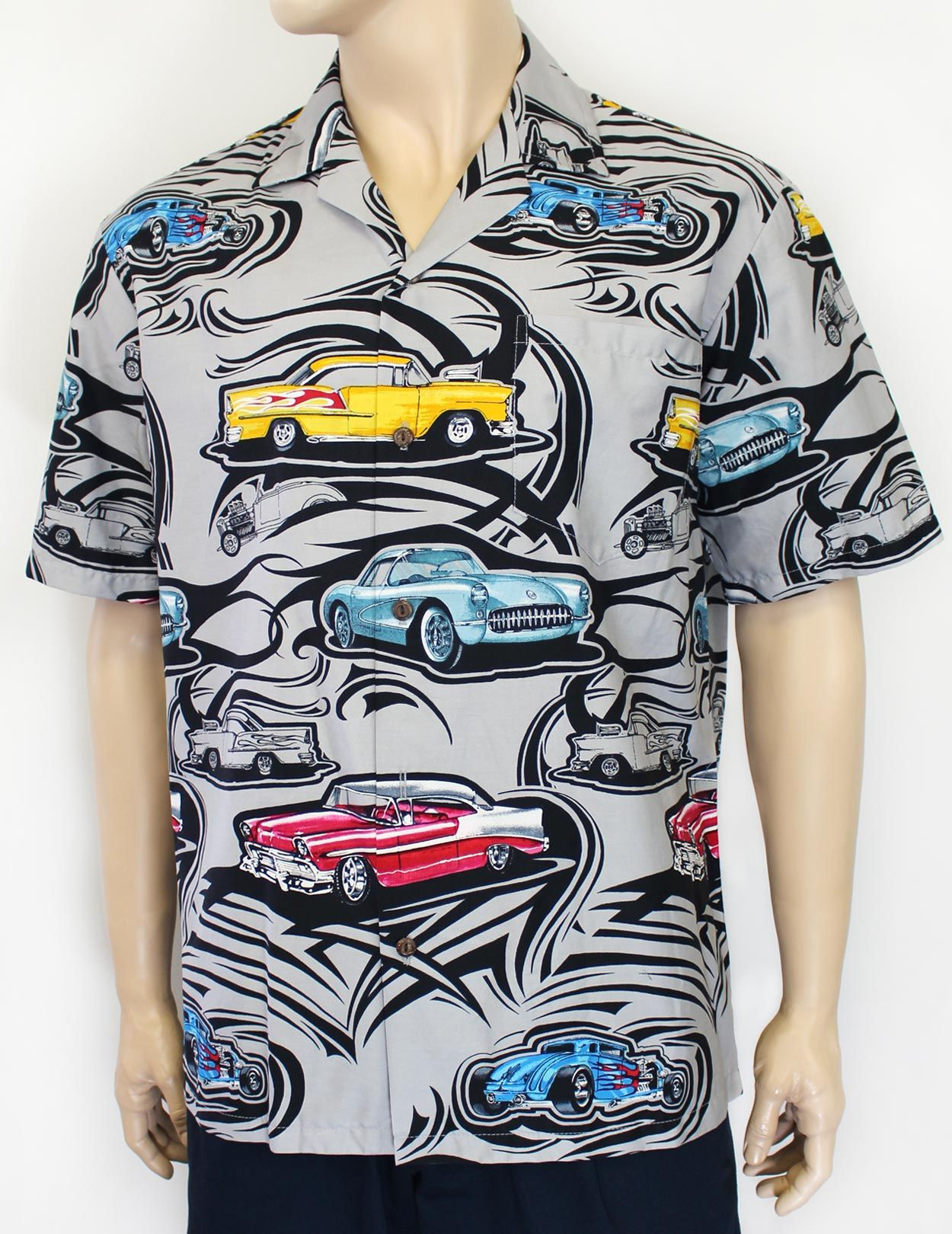 d2a3f4ee ... Rod Shop Dream Cotton Shirt at Shaka Time Hawaii Clothing Store Free  Shipping from Hawaii #hawaiianshirts #hawaiianshirt #alohashirt #cars  #mensshirt