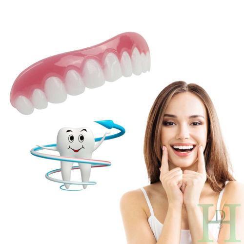 Silicone Simulated Teeth Instant Smile Cosmetic Teeth Natural Comforta Shopeeshipee Cosmetic Teeth Perfect Teeth Veneers Teeth