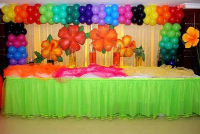 Creativas Ideas Para Decorar Con Globos Fiestas Infantiles Rainbow Birthday Party Event Planning Baby Shower Artist Birthday