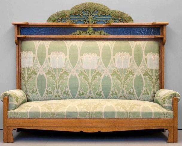 Art Nouveau - Salon - Iberto Issel - 1902 | Craftsman | Pinterest ...