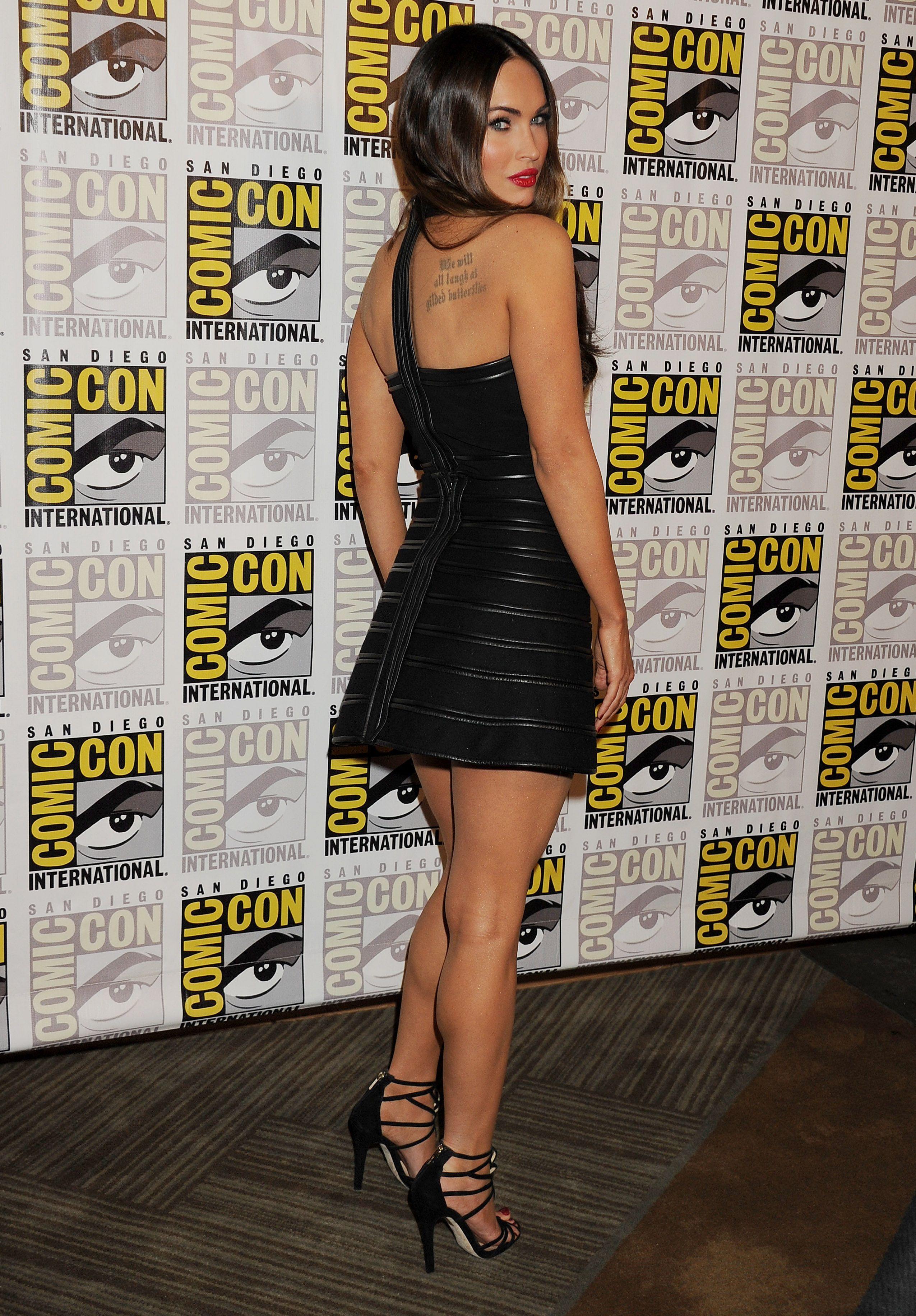 """Megan Fox 2014 Comic Con """"Teenage Mutant Ninja Turtles"""