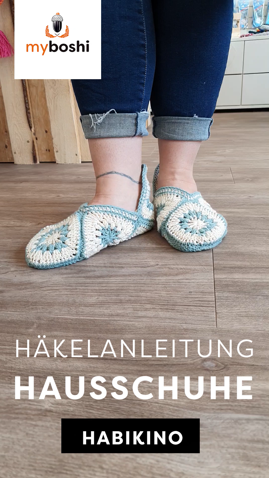 Photo of Granny Squares Hausschuhe häkeln – Anleitung & Wolle