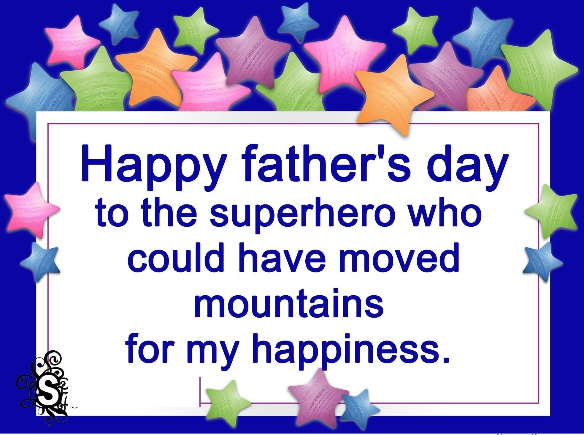 Sms congratulations on Fathers Day: funny and warm words