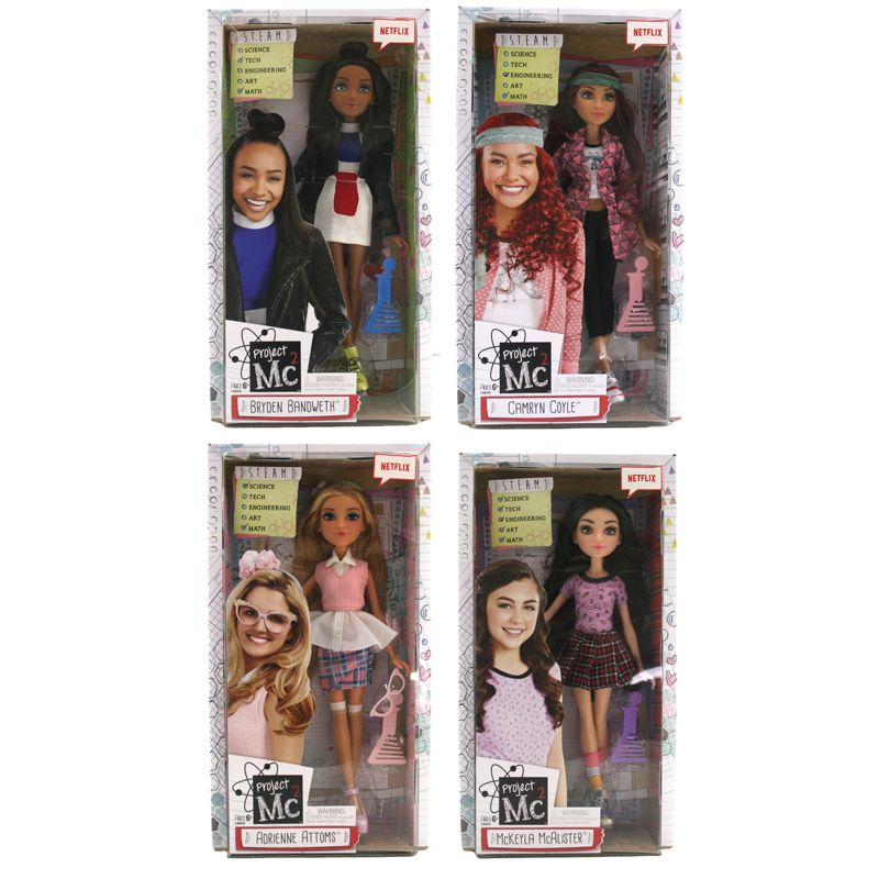 project mc2 project mc2 dolls assorted from mga