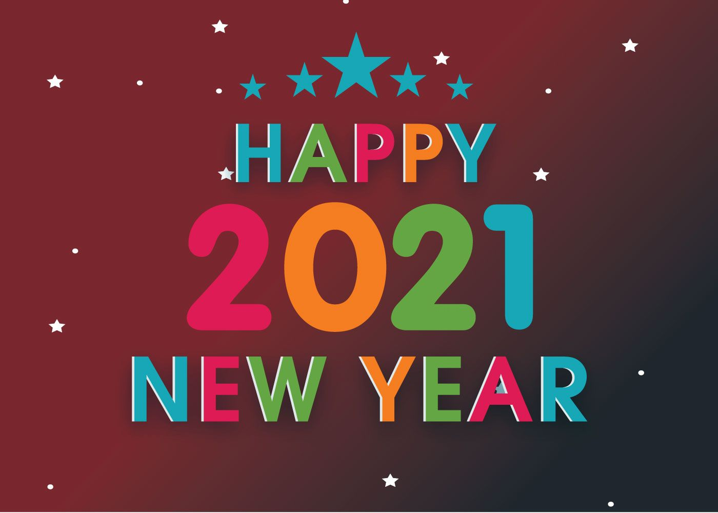 Stunning Happy New Year 2021 Images Happy New Year Wallpaper Happy New Year Greetings New Month Wishes