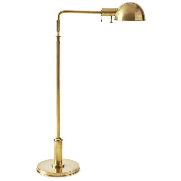 Serena lily carter task floor lamp antique brass 995 liked serena lily carter task floor lamp antique brass 995 liked on polyvore aloadofball Gallery
