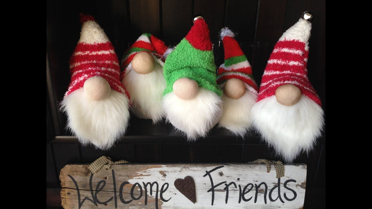 Sher's sock Gnomes tutorial! Gnome tutorial, Sock crafts