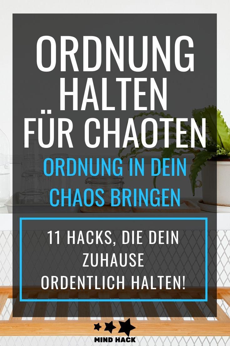 Jetzt ist es ordentlich, aber wie schaffst du, dass es so bleibt? Hier sind 11 Hacks, mit denen du ganz einfach Aufräumen und Ordnung halten kannst!