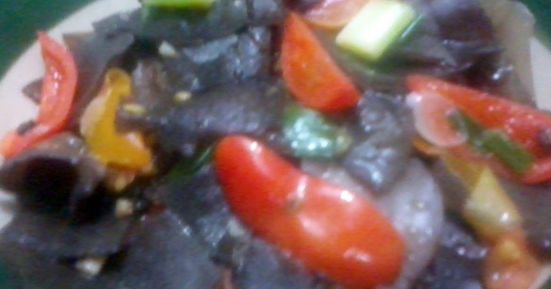 RESEP MASAKAN JAMUR KUPING PEDAS | Resep masakan, Resep ...