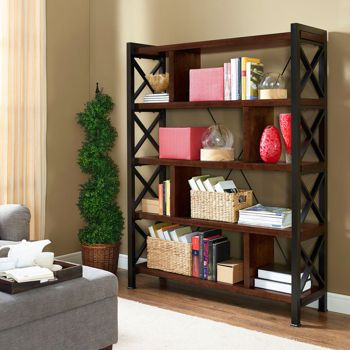 X bookcase room divider by universal broadmoore - Universal broadmoore bedroom furniture ...