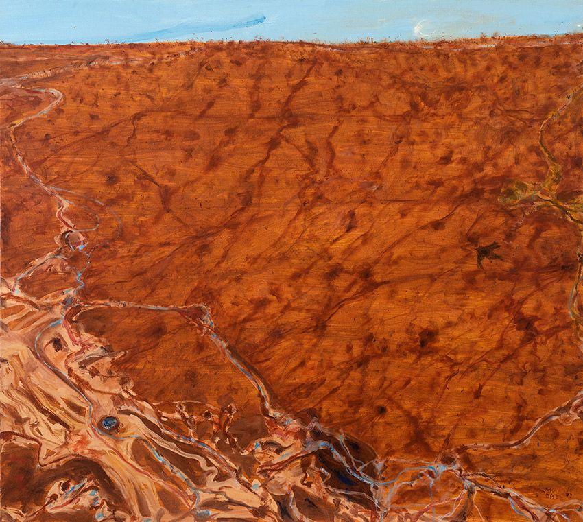 John olsen simpson desert modern art paintings