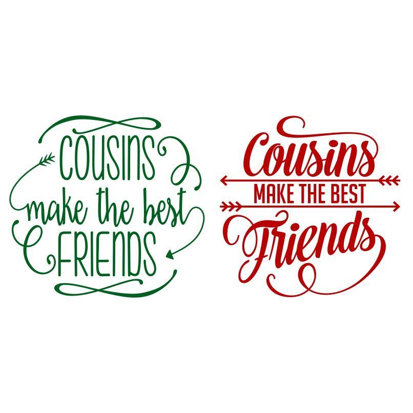 Cousins svg cuttable design cousins cutting tables