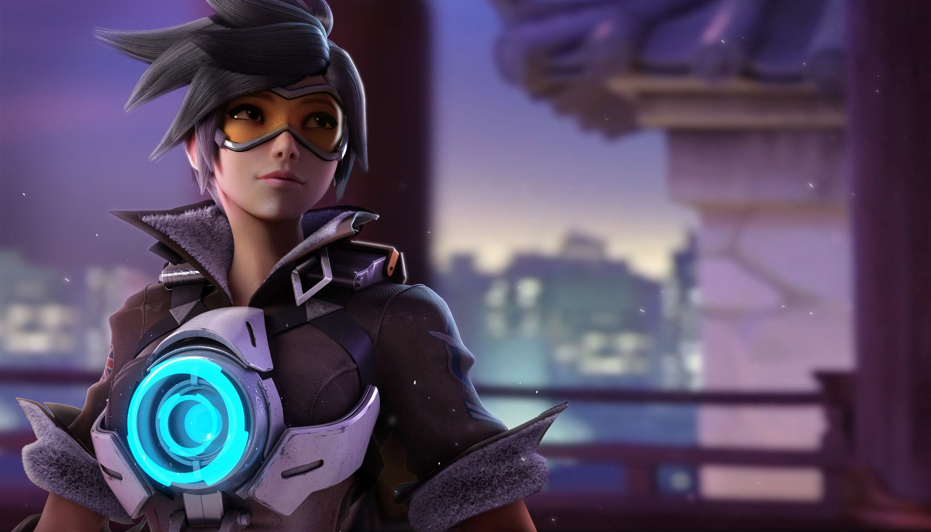 Tracer In Hanamura Kevin Lumoindong Overwatch Wallpapers Overwatch Tracer Overwatch Fan Art