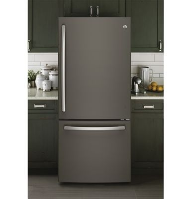 Superieur Slate Gray Gloss Magnetic Refrigerator Skin Cover Panel âu20acu201c Fridge Fronts