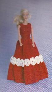Barbie Doll Prom Dress Free Crochet Patterns