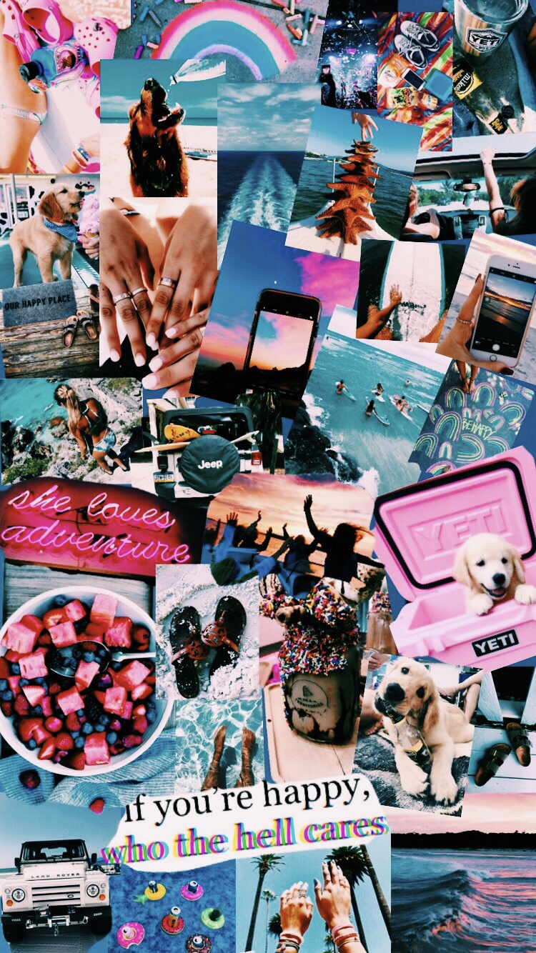 Eine Collage Geht Ganz Einfach Und Kann Immer Weider Neu Gestaltet