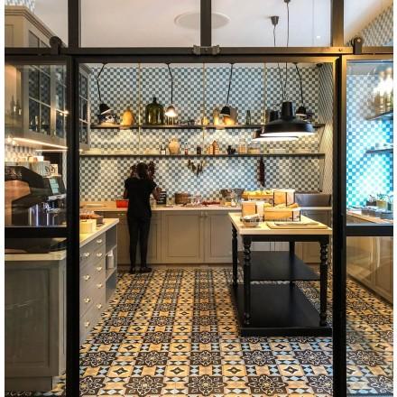 VIA GmbH // Zementmosaikplatte No. 12460#VIAPLATTEN#VIATILES#VIAFLIESEN#VIAZEMENTFLIESEN#interiordesig  ndetails#decointerior#interiorlove##homeinspo#interiorblogger#kitchenlove#pattern#kitchenflooring#apartmentlife#abmathome#interiorinspo#interiorideas #interiorarchitecture#konmari#interiorblog#inspohome #interiorstyled#interior_and_living#myinterior#onlyinterior #solebich#schönerwohnen#flooringinspiration#tiles#hoteldesign#restaurantdesign#terrazzoflooring#decorinspiration#sodomino#decorhome