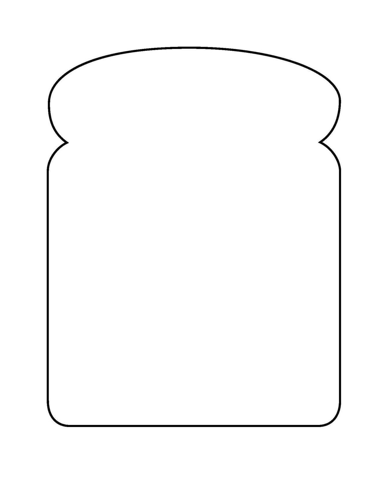 Toast Bread Coloring Page Coloring Pages Color Student Teaching