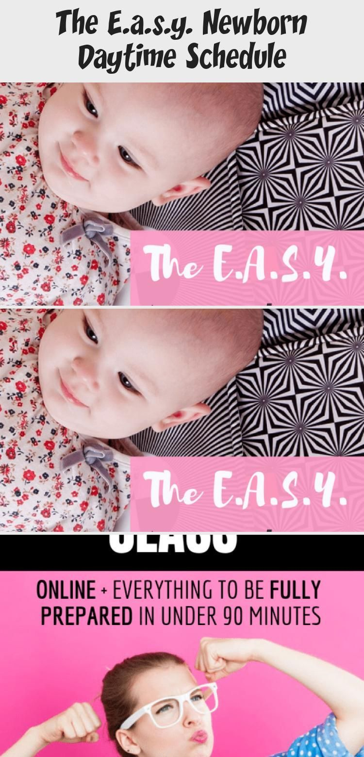 The E.a.s.y. Newborn Daytime Schedule - health and diet fitness -  The only newborn schedule you nee...