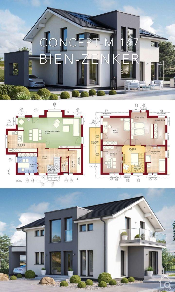 Modern House Plan Architecture Design Concept M 167 In 2020 Architecture Design Concept Modern House Plan Architecture Design