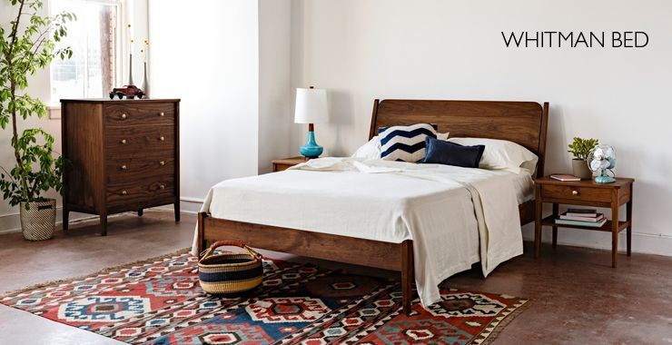 Whitman Bed The Joinery Portland Oregon Furniture