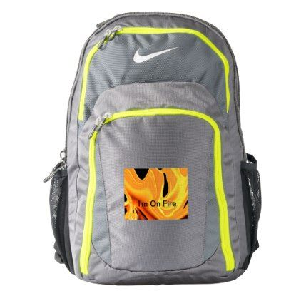 31a6ffffa10d  I m On Fire Nike Backpack -  travel  bags