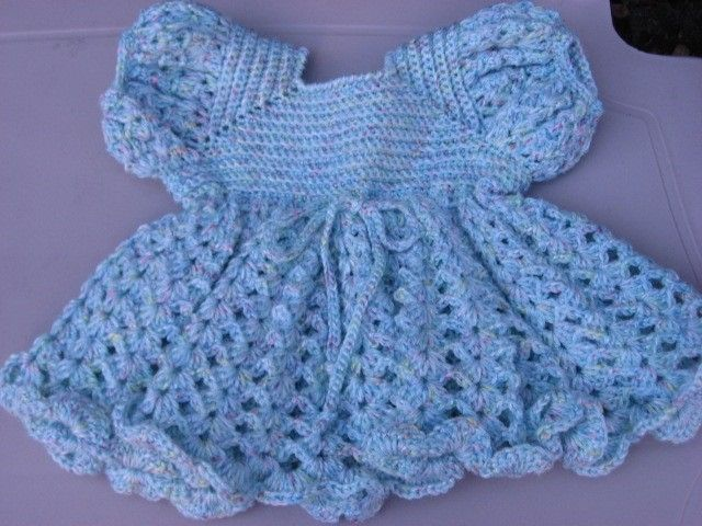 Crochet Pattern Central Free Baby Dresses And Gowns Crochet