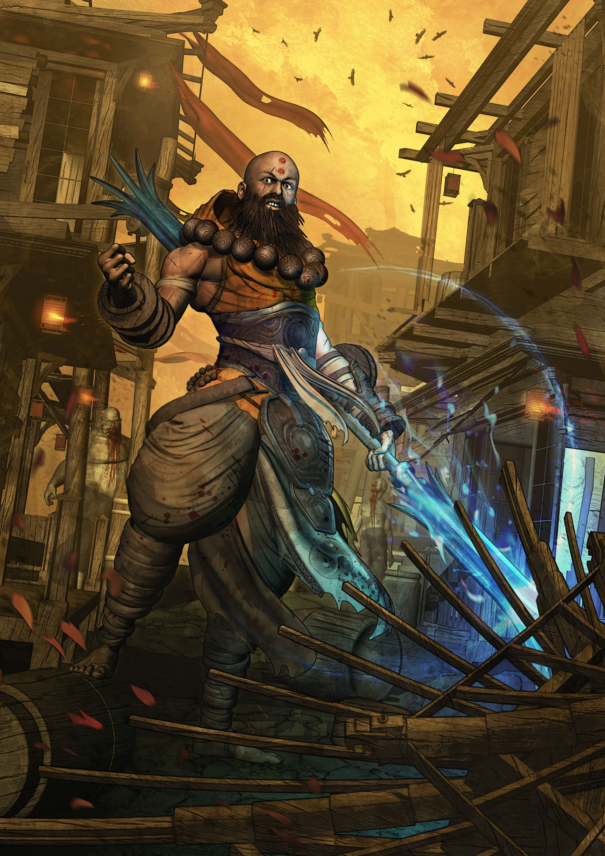 Diablo III - MONK - Reaper of Souls by STB01 deviantart com