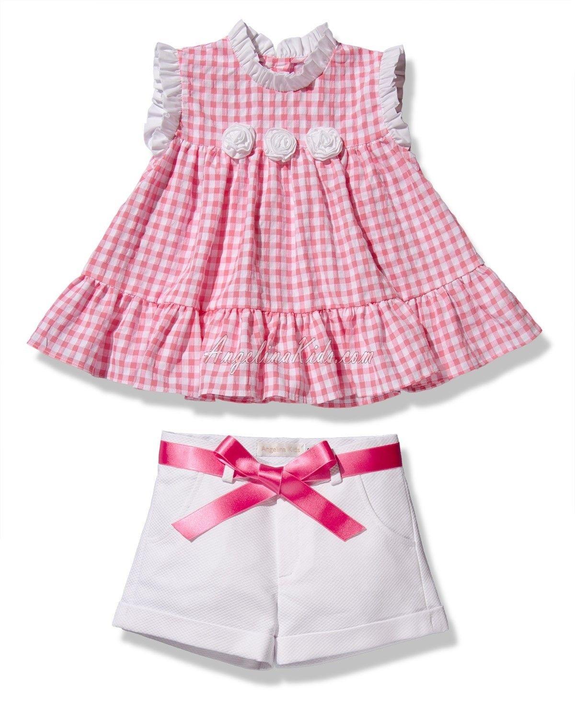 bca27460f Conjunto de niña rosa | vestidos espectaculares | Toddler Dress ...