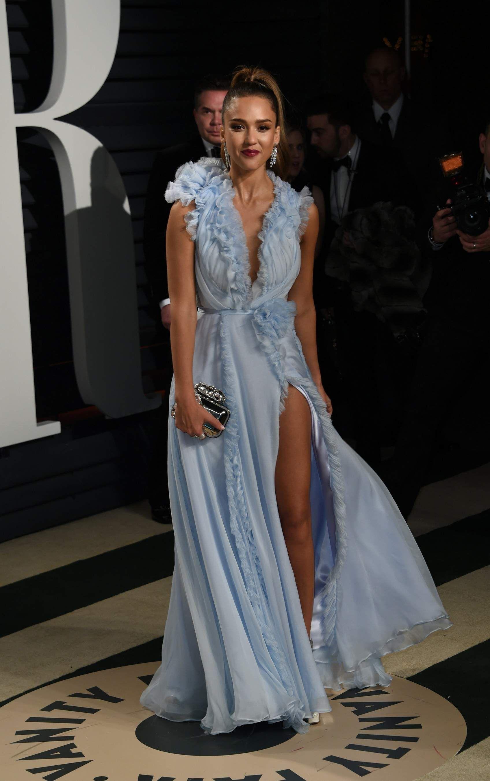 Jessica Alba - 2017 Vanity Fair Oscar Party Hosted By Graydon Carter ...