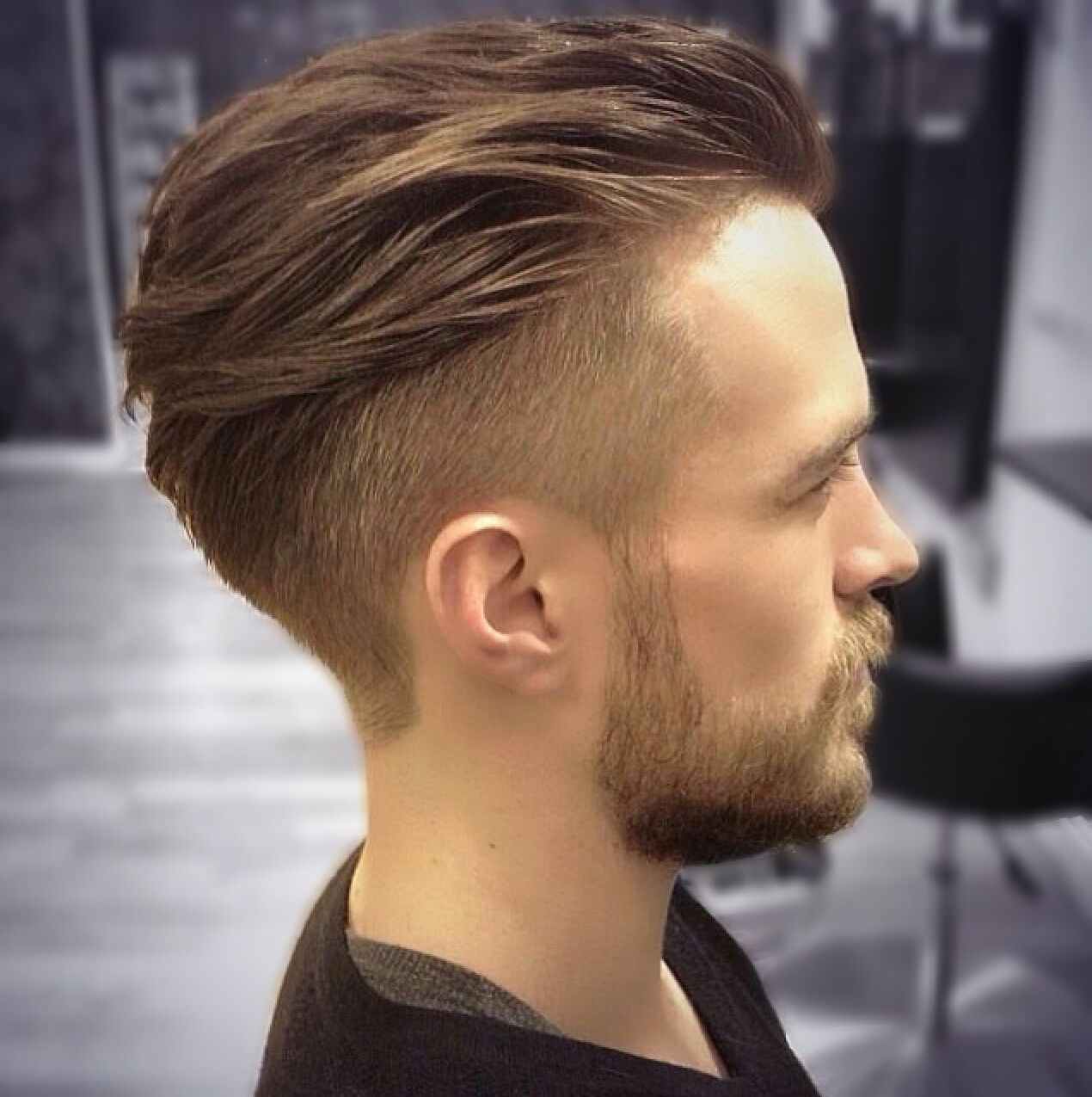 Haircuts for round faces men hair by ryan cullen mens hairstyles haircuts barber  guy hair