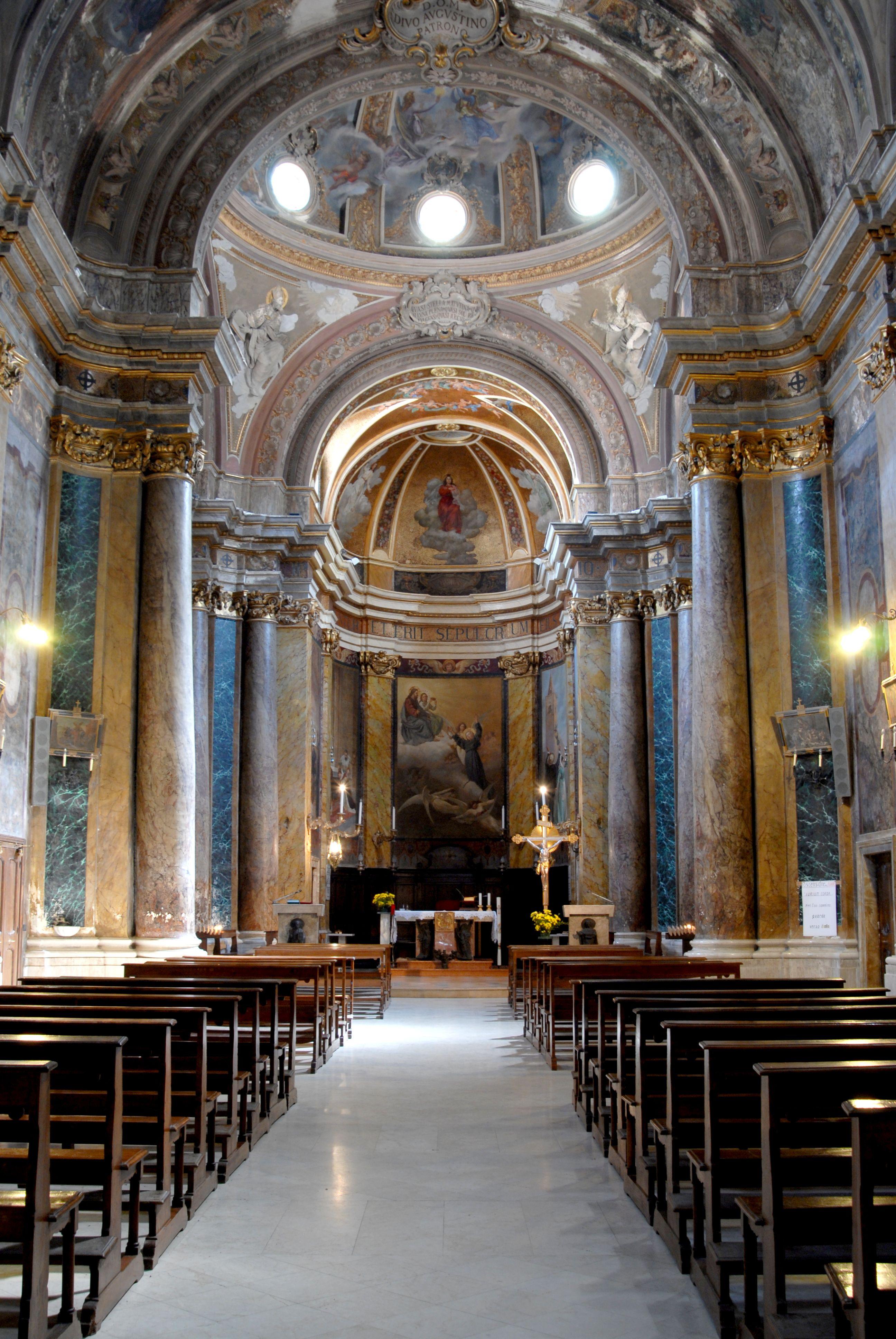 Chiesa del beato antonio interno della chiesa for Via san fermo milano
