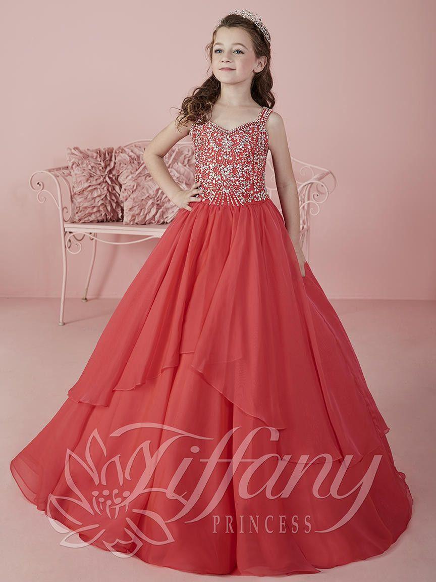 Tiffany Princess 13461 Pomegranite Pageant Dress   Pinterest   Ropa