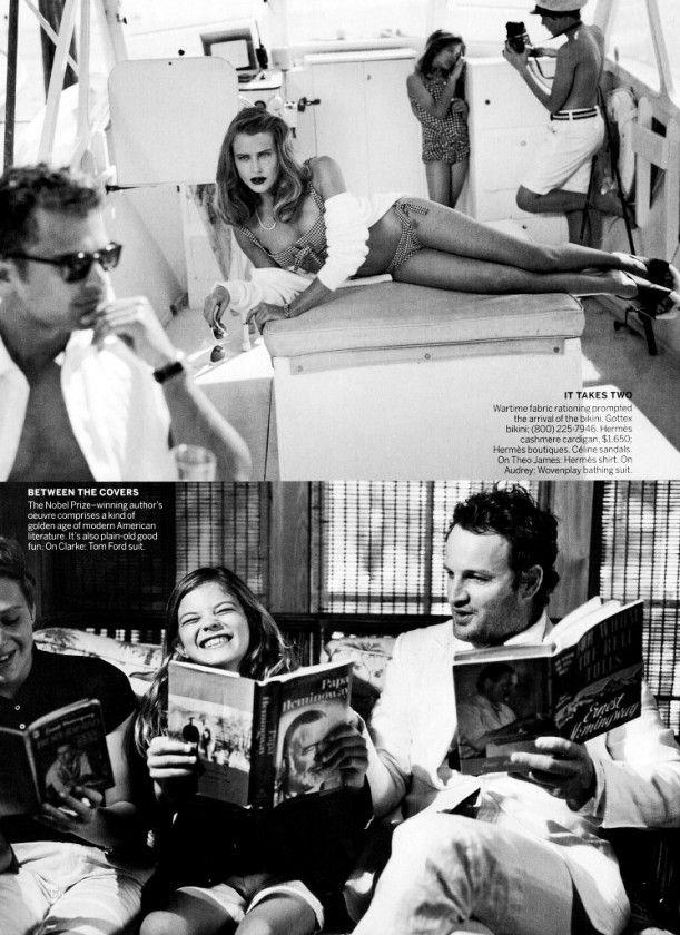 nice Vogue US | Editorial de Moda Junho 2013 | Dree Hemingway por Bruce Weber