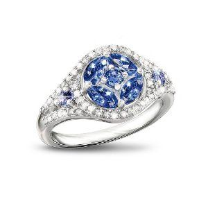 Amazon.com: Tanzanite And Diamond Ring: Exotic Beauty by The ... www.amazon.com