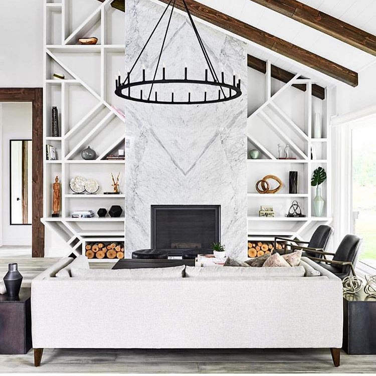 Get Creative With Custom Built Ins And Consider Geometric Shapes And Interesting Angles For The Shelves Design By Home Interior Design Room Design Built Ins