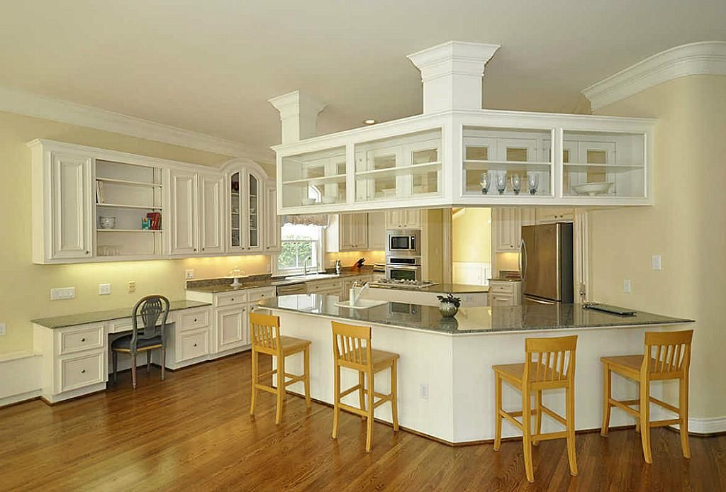 short double sided glass kitchen cabinets - Google Search ...