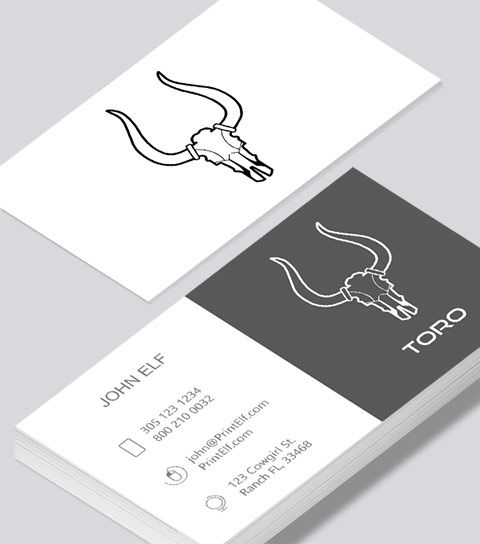 Modern contemporary business card design toro tech business card modern contemporary business card design toro tech business card reheart