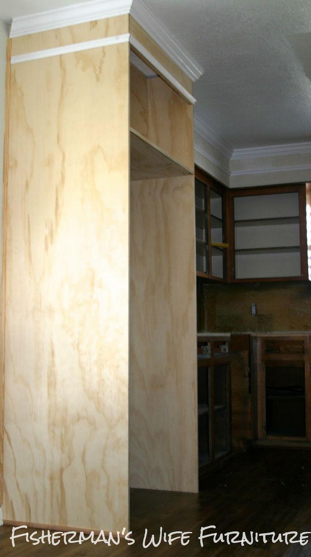 Küchenschränke für kleine küchen genial küchenschränke kühlschrank wohnzimmer die karre ist sehr