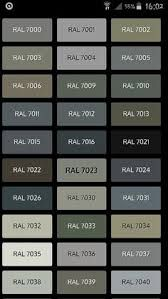Image Result For Compare Graphite Traffic B And Slate Ral Colours