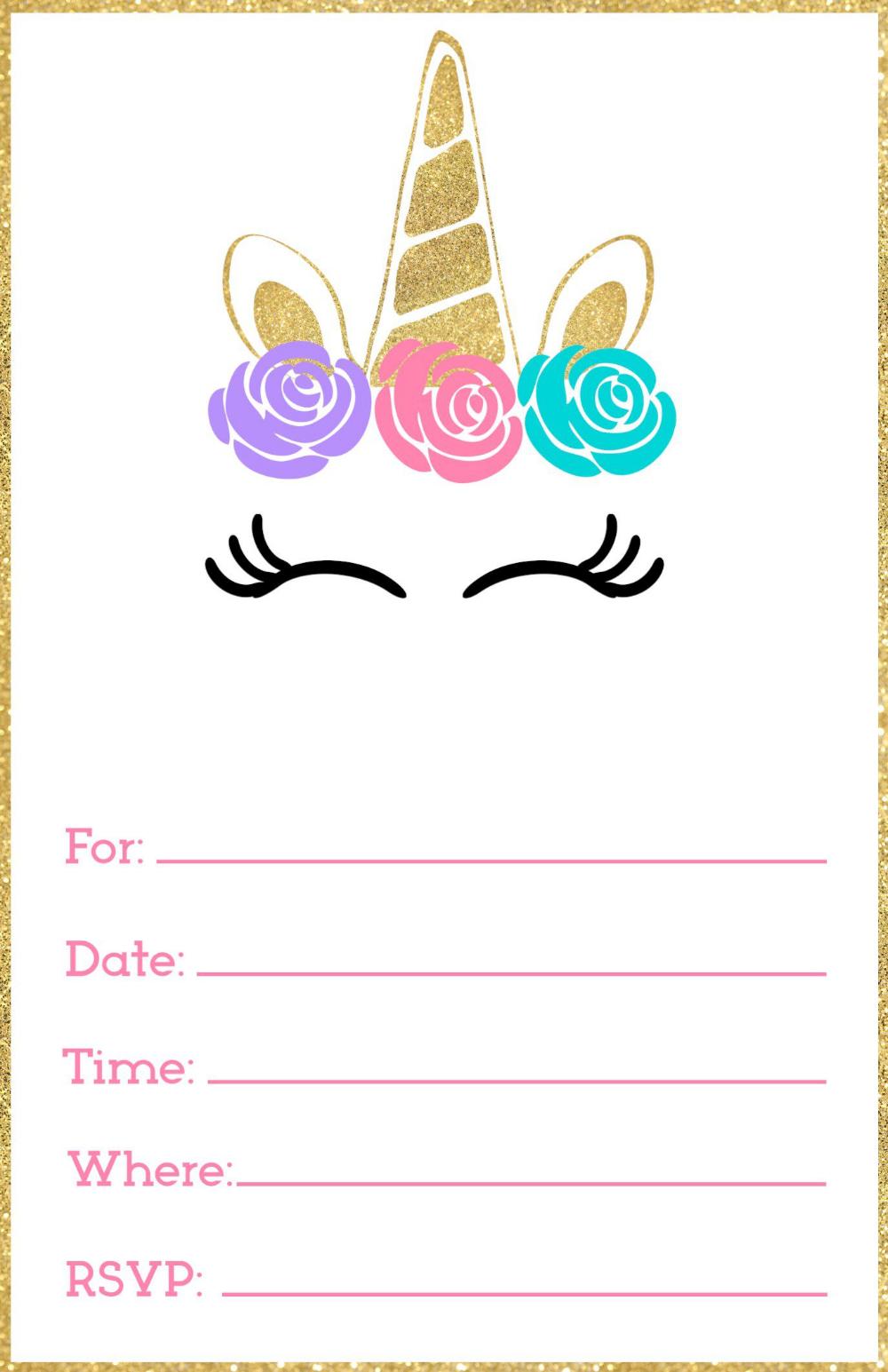 Einladung Geburtstag Einladungskarten Selbst