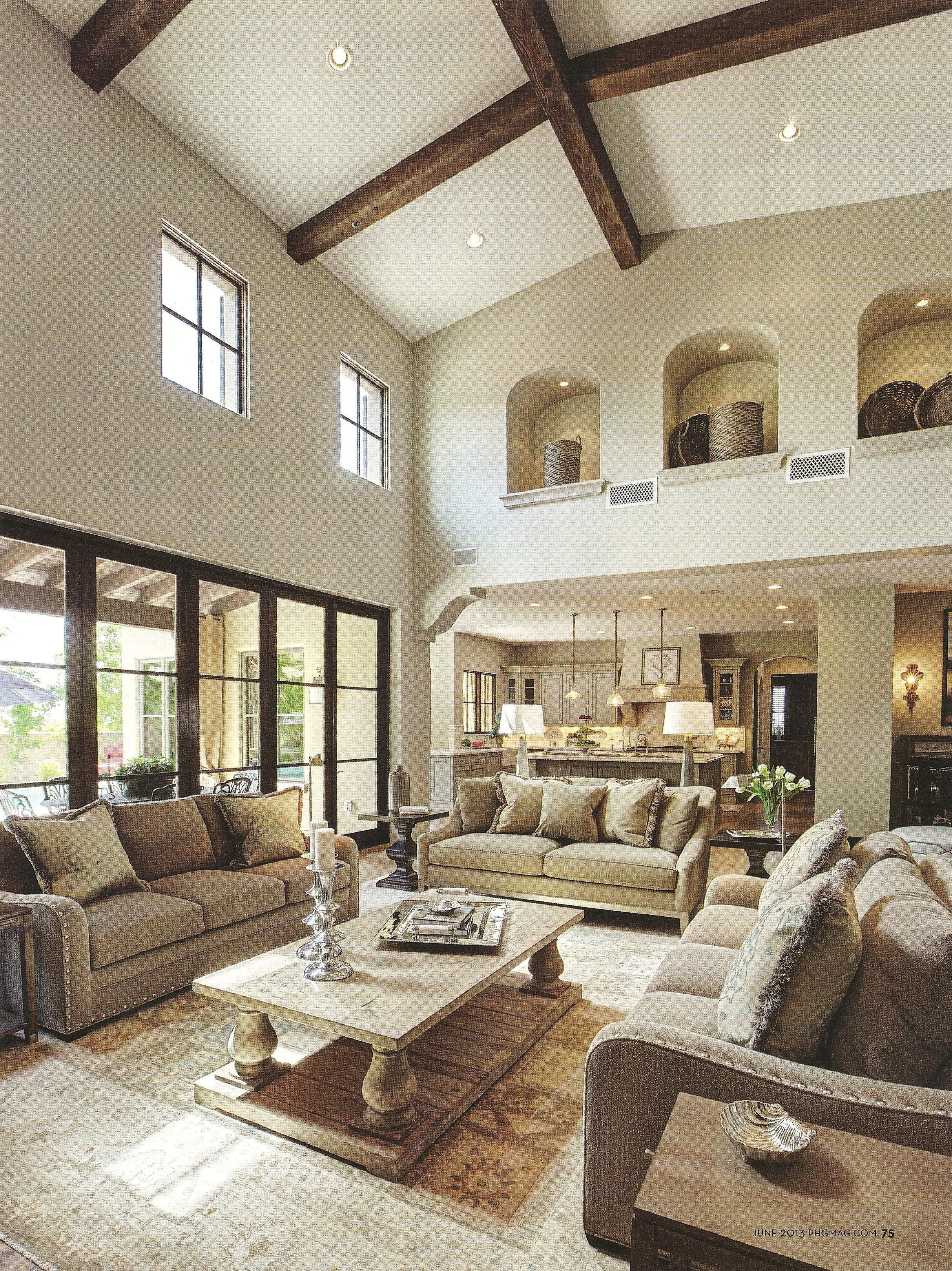 One Posh Place   Phoenix, AZ Neutral Family Room Home Living Room, Formal  Living