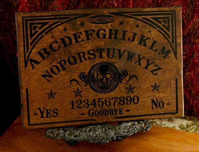 Ouija Board Template Printable