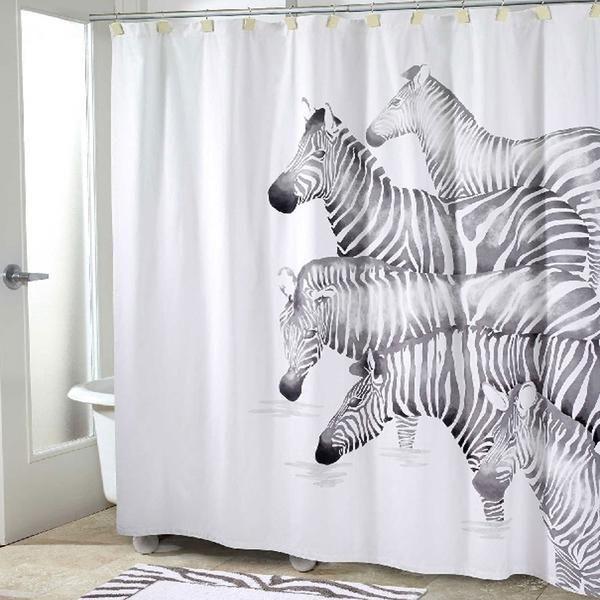 Pundamilia Fabric Shower Curtain Trendy Shower Curtain Fabric