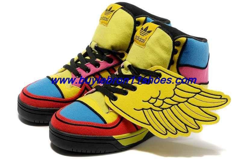 on sale d0955 531de 2013 Adidas X Jeremy Scott Wings Color Shoes For Sale