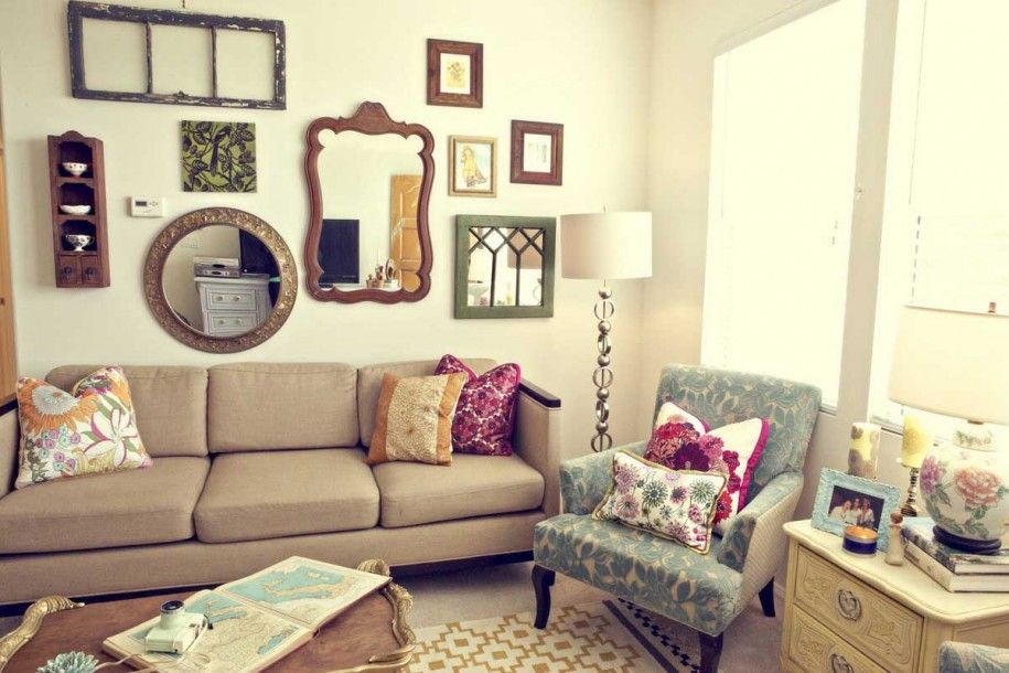 Pin By Lori Martin On Vintage Home Vintage Apartment Decor Eclectic Living Room Design Eclectic Living Room