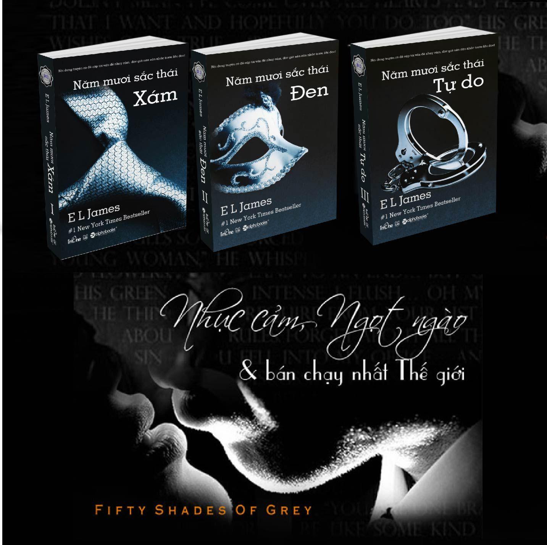 Cuốn sách 50 sắc thái kể về mối quan hệ tình ái rắc rối của một cô sinh  viên ngành văn xinh đẹp với một triệu phú trẻ thành đạt, ...